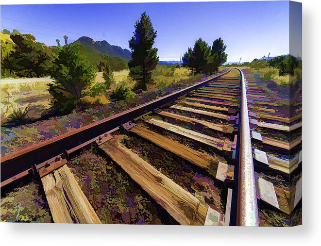 Beauty Canvas Print featuring the photograph Around The Bend by J Michael Nettik