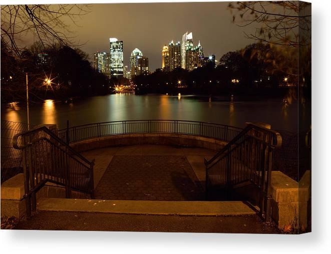 Atlanta Canvas Print featuring the photograph Atlanta by Gorgonio Tejero
