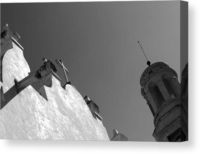 Canvas Print featuring the photograph Atotonilco Sanctuary by Cathy Anderson