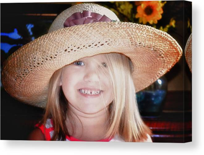 Girl Canvas Print featuring the photograph Beauty Queen by Kelly Reber