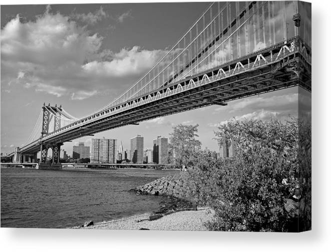 River Canvas Print featuring the photograph Brooklyn Beauty by Tony Ambrosio