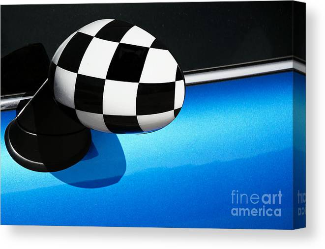 Checkered Canvas Print featuring the photograph Checkered Finish by Susie Peek