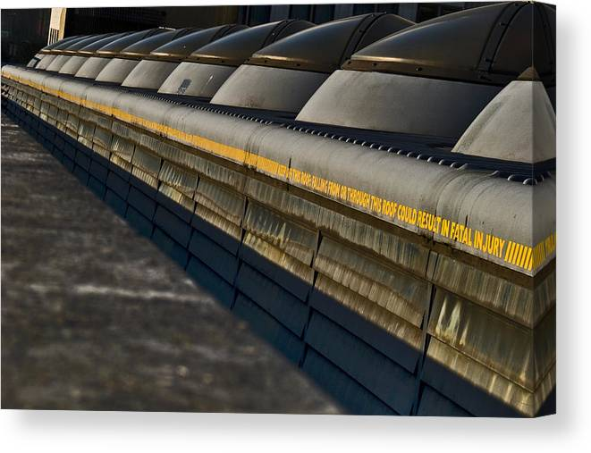 City Canvas Print featuring the photograph City Domes by David Howarth