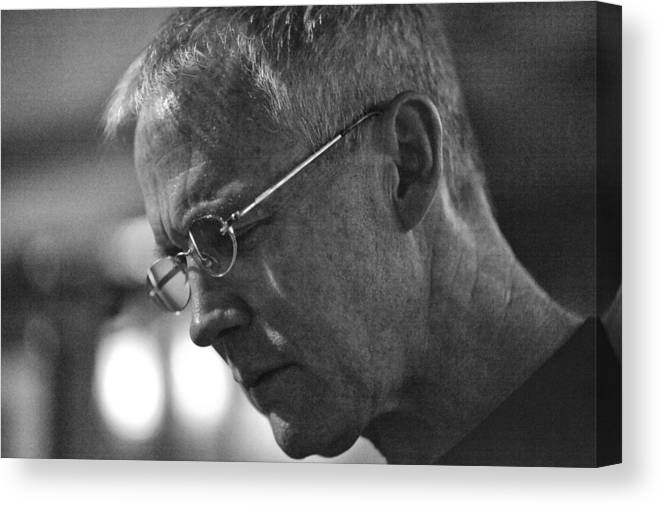 Jazz Canvas Print featuring the photograph Clay Jenkins by Dailey Pike