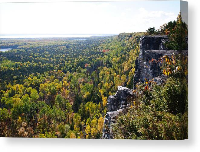 Cup & Saucer Canvas Print featuring the photograph Cup And Saucer Trail by David Jenniskens