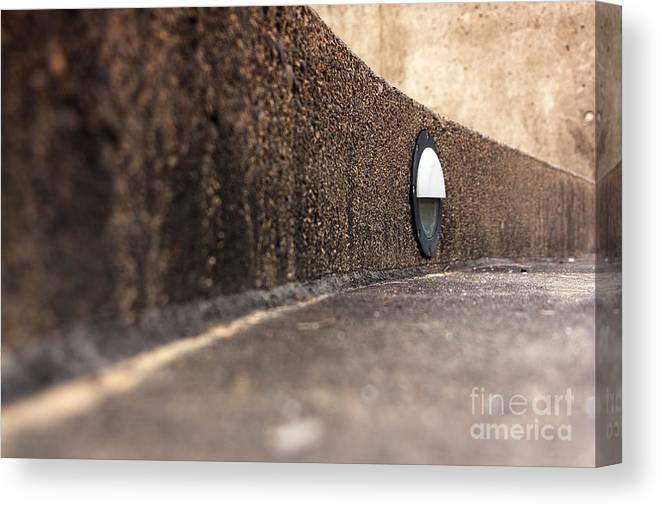 Steps Canvas Print featuring the photograph Curved Perspective by Peace Monger