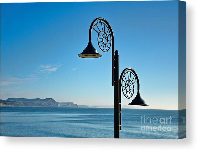 Yme Regis Canvas Print featuring the photograph December Morning by Susie Peek
