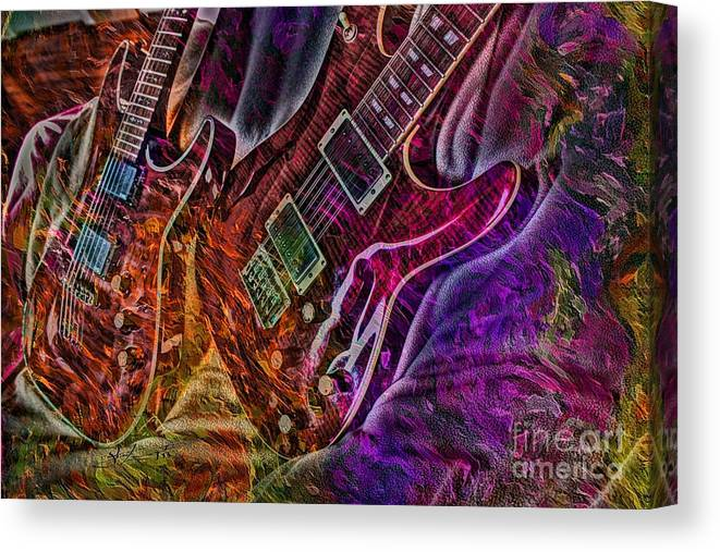 Acoustic Canvas Print featuring the photograph Digital Freedom By Steven Langston by Steven Lebron Langston