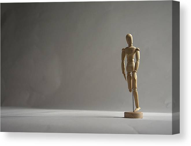 Mannequin Canvas Print featuring the photograph Gallant Mannequin II by Julian Riojas