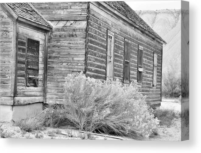 Canvas Prints Canvas Print featuring the photograph If Walls Could Talk by Wendy Elliott