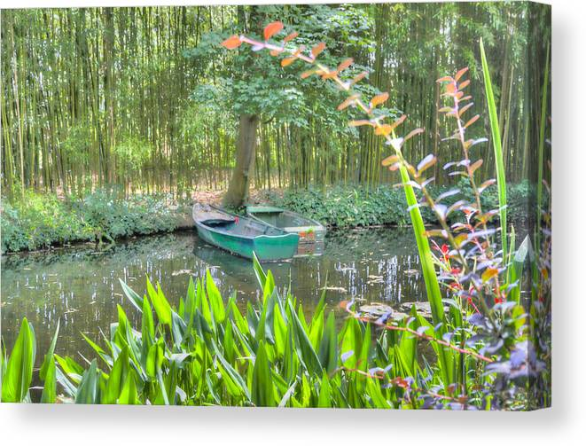 France Canvas Print featuring the photograph Impressions Of Monet by Tim Stanley