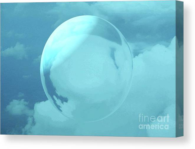 Sky Canvas Print featuring the photograph Infinity by Kathleen Struckle