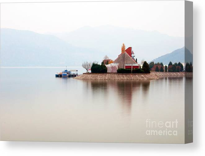 Day Canvas Print featuring the photograph Isolated by Ciprian Kis