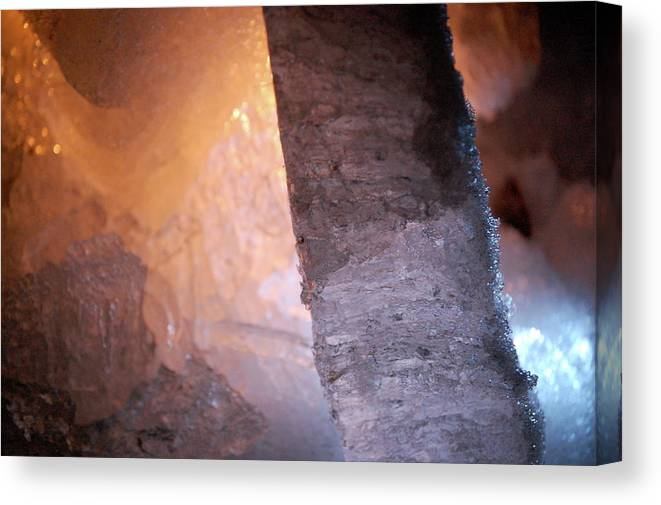 Ice Canvas Print featuring the photograph Jammer Fire And Ice 005 by First Star Art