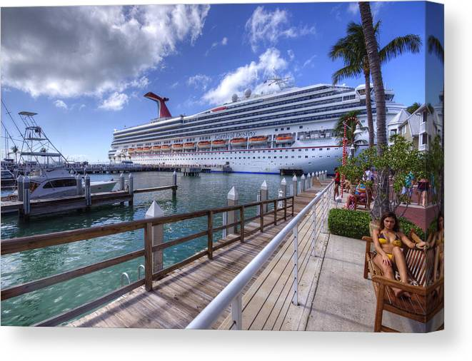 Key West Canvas Print featuring the photograph Key West Paradise by Danny Mongosa