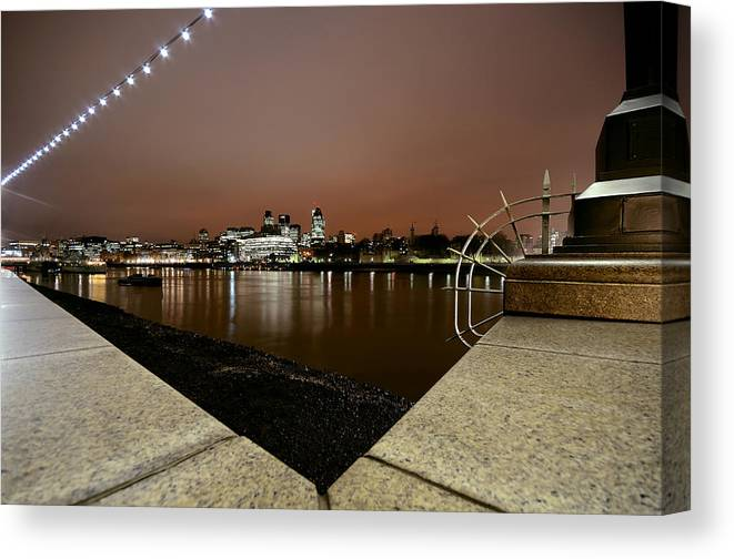London Canvas Print featuring the photograph London Pride by David Howarth