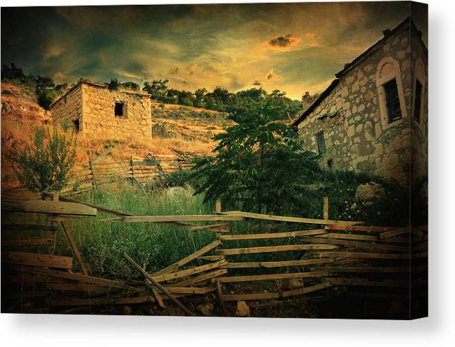 Village Canvas Print featuring the photograph Mesmer by Zapista