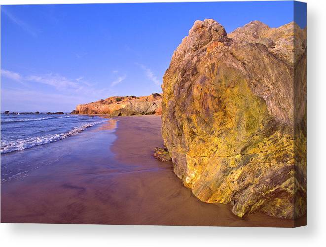 Tranquility Canvas Print featuring the photograph Mexico, Gulf Of California, Baja by Dkar Images