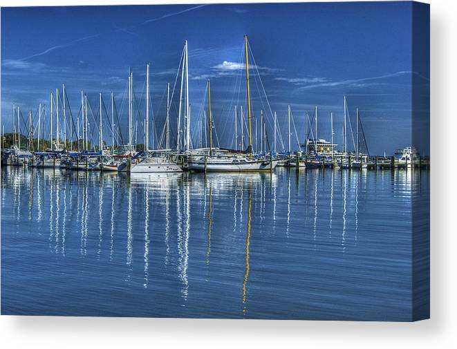 Florida Canvas Print featuring the photograph No More Mondays by William Underwood