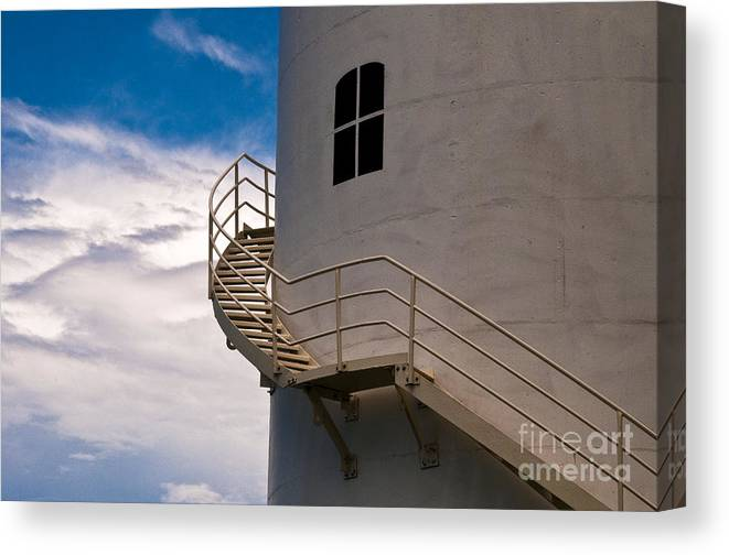Australia Canvas Print featuring the photograph Old Lighthouse by Lana Enderle