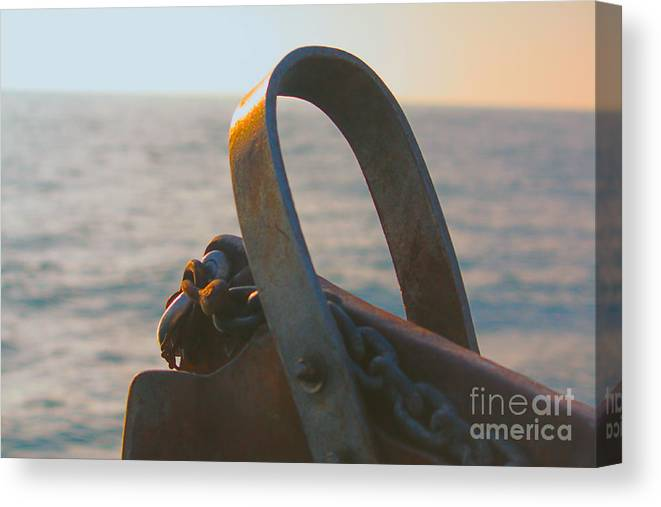 Sea Canvas Print featuring the photograph On The Open Sea by Loretta Jean Photography