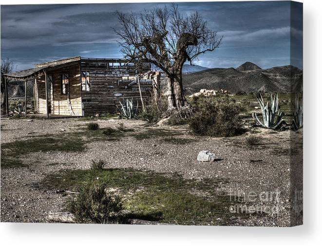 Ruin Canvas Print featuring the photograph Once Upon A Time by Heiko Koehrer-Wagner