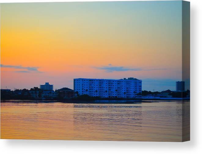 Ormond Canvas Print featuring the photograph Ormond Beach by Karl Davis