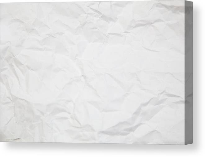image regarding Printable Canvas Paper identify Paper Texture. White Paper Sheet. Canvas Print