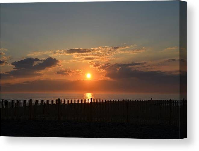 Quiet Canvas Print featuring the photograph Quiet Sunrise by Bill Cannon