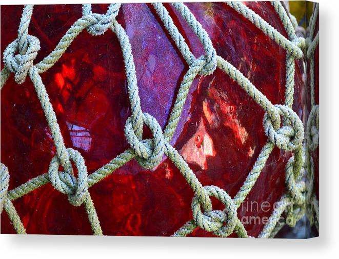 Float Canvas Print featuring the photograph Red Float by Jan Prewett