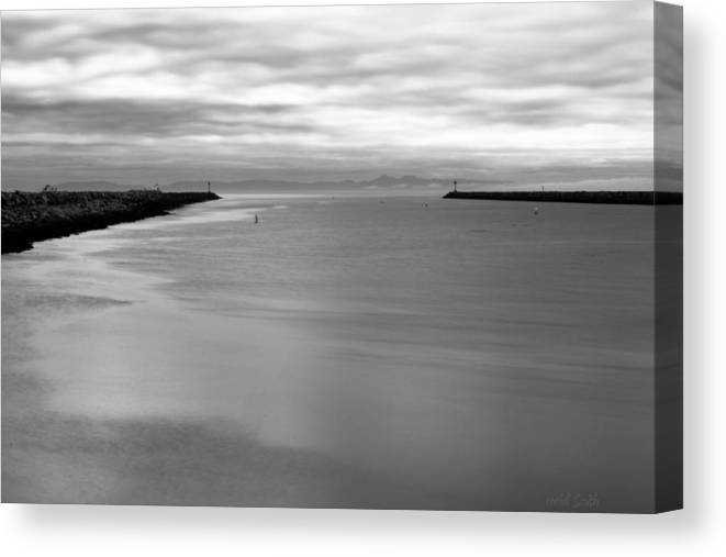 Beach Canvas Print featuring the photograph Remains Of The Storm by Heidi Smith