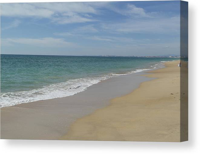 Canvas Print featuring the photograph Serenity by Liz Gordon