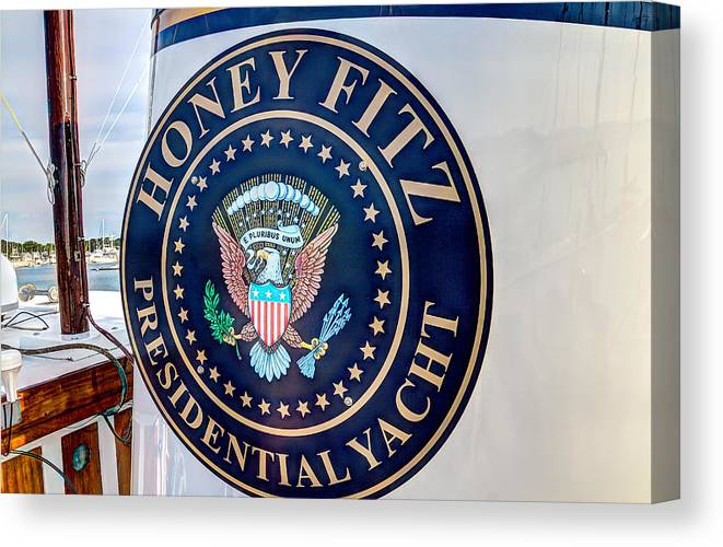 Boat Canvas Print featuring the photograph Smoke Stack by Stan Ramsay