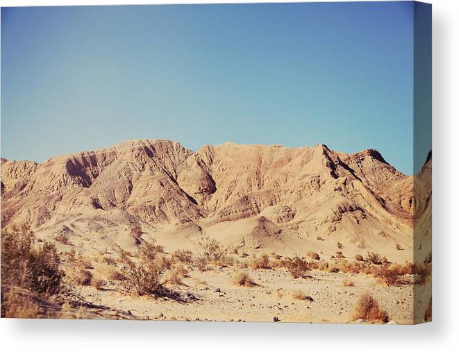 Anza Borrego State Park Canvas Print featuring the photograph Sometimes I See So Clearly by Laurie Search