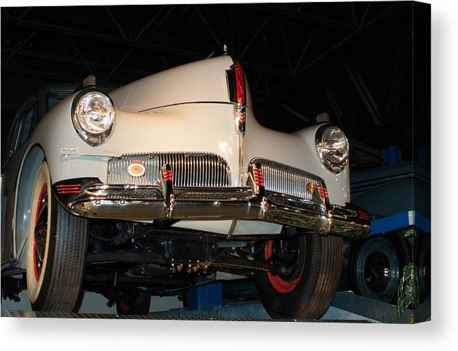 Studebaker Canvas Print featuring the photograph Studebaker Skyway by Craig Hosterman