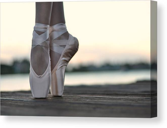 Dancer Canvas Print featuring the photograph Sylph by Laura Fasulo