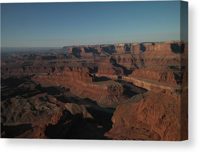 Rivers Canvas Print featuring the photograph The Colorado River At Dead Horse State Park by Jeff Swan