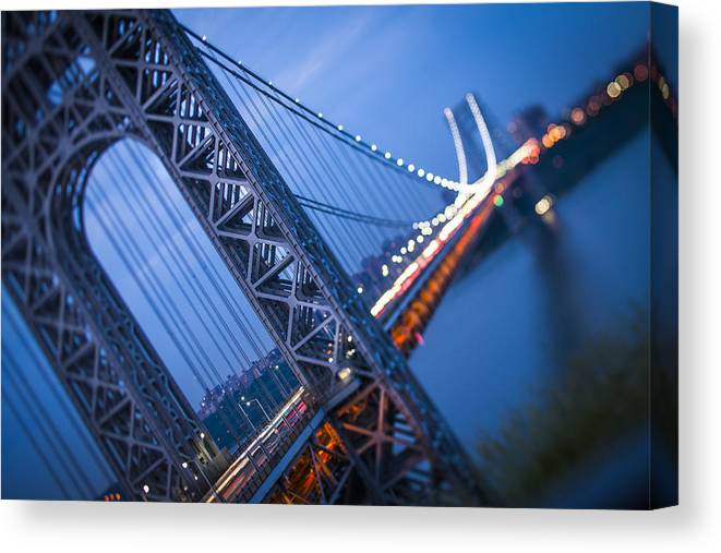Gwb Canvas Print featuring the photograph The Dynamic Gwb by Chris Halford