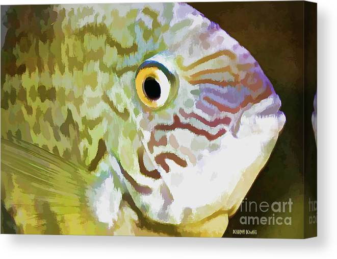Fish Canvas Print featuring the photograph The Fish by Deborah Benoit