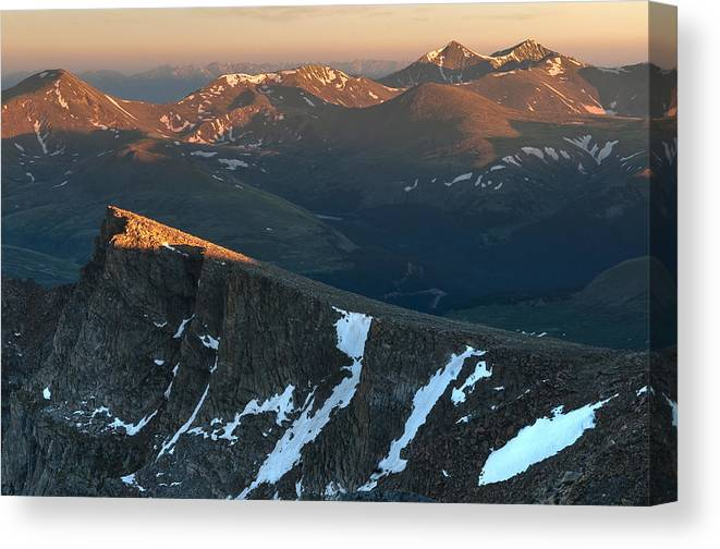All Rights Reserved Canvas Print featuring the photograph Tip Of The Tooth by Mike Berenson