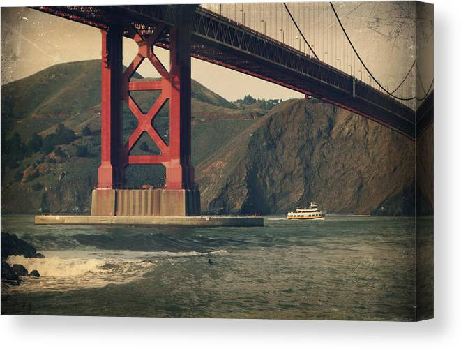 Landscapes Canvas Print featuring the photograph Tomorrow Will Still Be The Same by Laurie Search