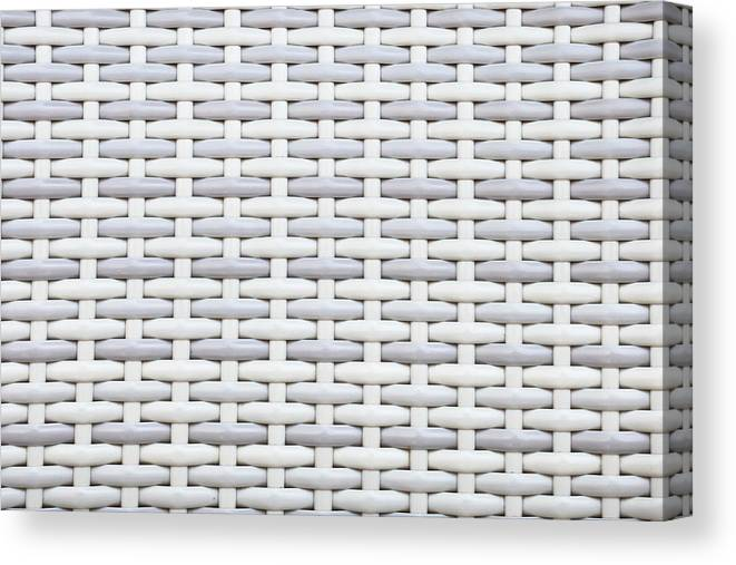 Abstract Canvas Print featuring the photograph Wicker by Tom Gowanlock