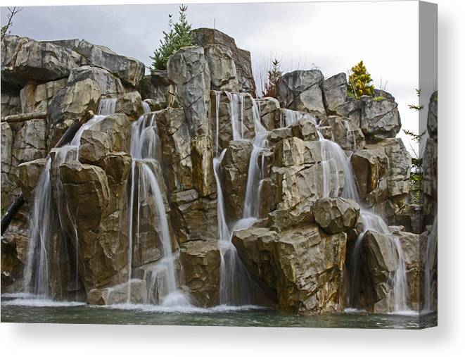 Nature Canvas Print featuring the photograph Bliss by Brad Walters