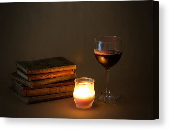 7799 Canvas Print featuring the photograph Wine And Wonder B by Gordon Elwell
