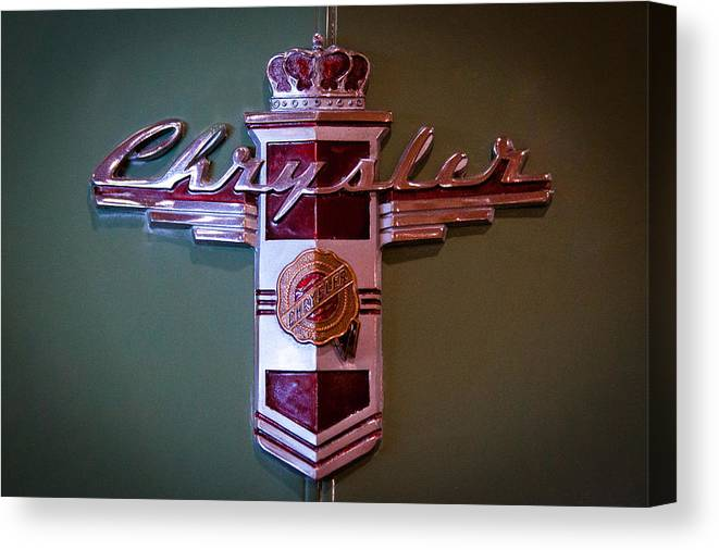 42 Canvas Print featuring the photograph 1942 Chrysler Royal Business Coupe by David Patterson