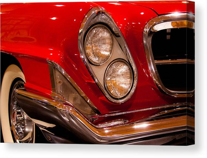 61 Canvas Print featuring the photograph 1961 Chrysler 300g 2-door Hardtop by David Patterson