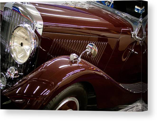 36 Canvas Print featuring the photograph 1936 Bentley by David Patterson