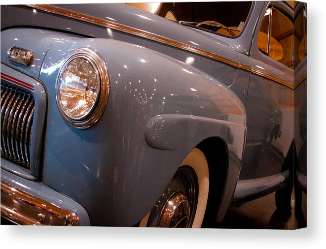 42 Canvas Print featuring the photograph 1942 Ford Deluxe 2-door Club Coupe by David Patterson