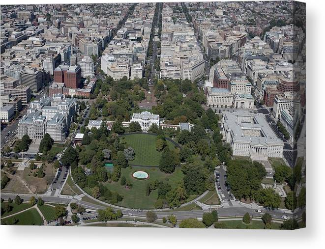 Cool Aerial View Of The White House Canvas Print Download Free Architecture Designs Scobabritishbridgeorg