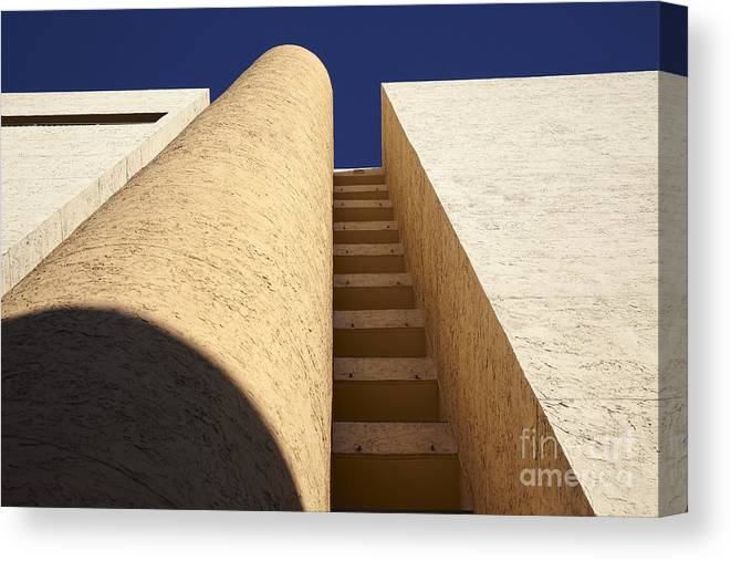 Architectural Canvas Print featuring the photograph Architectural Abstract by Tony Cordoza